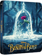 Beauty & The Beast 3D (Includes 2D Version) - Zavvi UK Exclusive Limited Edition Steelbook