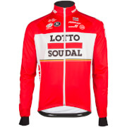 Lotto Soudal Long Sleeve Jersey - Red/White