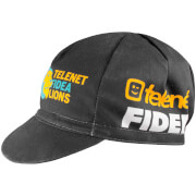 Telenet Fidea Cotton Cap - Black/Yellow/White