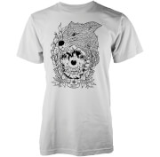 Abandon Ship Skinned Fox Heren T-shirt - Wit