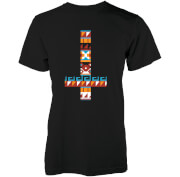 Image of Abandon Ship Men's Aztec Cross T-Shirt - Black - L - Black