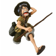 Statuette Banpresto One Piece Big Zoukeio Monkey D. Luffy - Version Spéciale Colorée