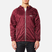 BOSS Hugo Boss Men's Beach Zip Jacket - Dark Red