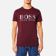 BOSS Hugo Boss Men's Large Logo T-Shirt - Dark Red