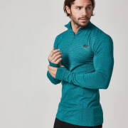 Seamless 1/4 Rits Shirt