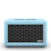 Akai Retro Bluetooth Speaker (2 x 12.5W) - Blue