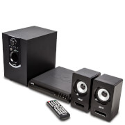 Image of Akai 50W Bluetooth DVD Home Theatre System - Black