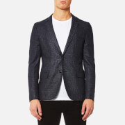 HUGO Men's Anfred Blazer - Navy - EU 38 - Blue