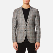 HUGO Men's Anfred Blazer - Medium Brown - EU 38 - Brown