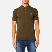 BOSS Orange Men's Pavlik Polo Shirt - Dark Green