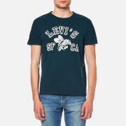 Levi's Men's Graphic Set In Neck T-Shirt - Dress Blues