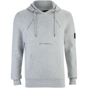 Sweat à Capuche Obalisk Smith & Jones -Gris Clair