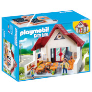 Playmobil City Life Schoolhouse with Moveable Clock Hands (6865)
