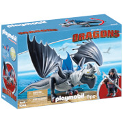 Playmobil How to Train Your Dragon: Drago with Shield Dragon (9248)