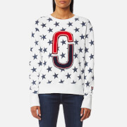 Marc Jacobs Women's '90s Star Sweatshirt - Ivory - XS - White