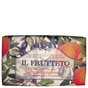 Натуральное мыло Оливковое масло и мандарин Nesti Dante Il Frutteto Olive Oil and Tangerine Soap 250г