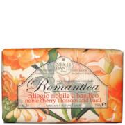 Мыло для создания романтического настроения «Вишневый цвет и базилик» Nesti Dante Romantica Cherry Blossom and Basil Soap 250г фото