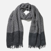 PS by Paul Smith Men's Polka Melange Scarf - Black