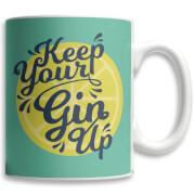 Keep Your Gin Up Mug