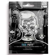 BARBER PRO Face Putty Black Peel-Off Mask with Activated Charcoal (3 Applications)