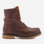 Bottines Homme Aviator Roll Down Wrangler - Marron Tabac