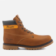 Bottines Homme Hunter Lace Up Wrangler - Camel