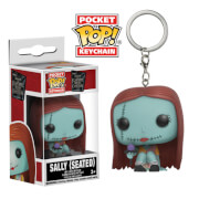 The Nightmare Before Christmas Seated Sally Pocket Pop! Vinyl Keychain