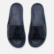 KENZO Women's Pool Side Slip On Sandals - Navy Blue