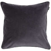 GANT Home Velvet Cushion - Antracite