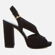 MICHAEL MICHAEL KORS Women's Becky Platform Sandals - Black - US 7/UK 4 - Black