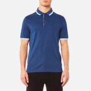 Michael Kors Men's Logo Collar Polo Shirt - Marine Blue