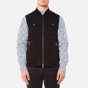 Michael Kors Men's Quilted Knitted Vest - Black - XXL - Black