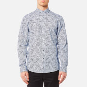 Michael Kors Men's Slim Charles Print Shirt - Denim