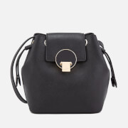 Vivienne Westwood Women's Opio Saffiano Mini Bucket Bag - Black