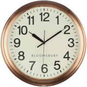 Fifty Five South Wall Clock - Copper Finish