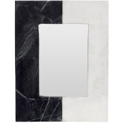 Fifty Five South Marble Complements Photo Frame - Grey/White 4
