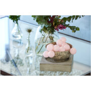 Image of Sirius Bolette Mini Cotton Ball Lights with Timer - Blush