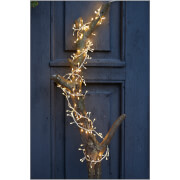 Sirius Knirke Cluster String Lights with Timer - Clear/Silver