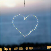 Sirius Liva Small Heart with Timer - White