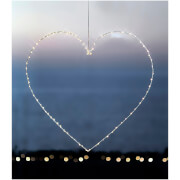 Sirius Liva Big Heart with Timer - White