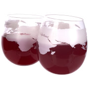 Globe Whiskey Rocker Glasses 300ml (Pack of 2)
