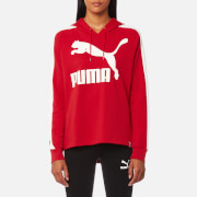 Puma Women's Archive T7 Logo Hoody - Toreador