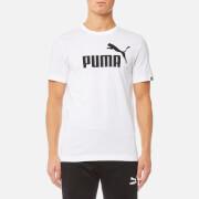 Puma Men's Essential No.1 Short Sleeve T-Shirt - Puma White