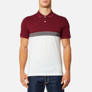 GANT Men's Tech Prep Pique Rugger Polo Shirt - Mahogany Red