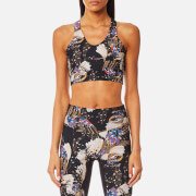 Lucas Hugh Women's Erte Sports Bra - Black Print - S - Black