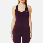 Lucas Hugh Women's Core Technical Knit Tank Top - Aubergine - L - Purple
