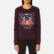 KENZO Women's Classic Tiger Sweatshirt - Prune