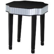 Clavier Side Table - Mirror/Black