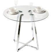 Metropolitan Dining Round Table - Glass