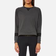 Bjorn Borg Women's Caroline Long Sleeve Crew Neck Sweatshirt - Light Grey Melange